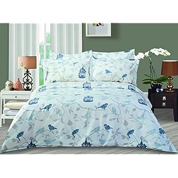 double king case beautiful cover quilt size detail single bird duvet product bedding set pillow