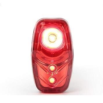 CYSHAKE Luces de Bicicleta Batería Ultra Brillante 3 Modos de luz ...