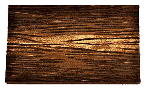 Black Palm Wood Knife Handle Scales (Each Pair is Unique) 5