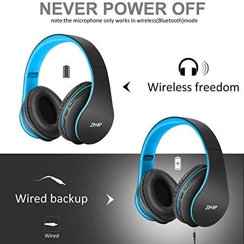 Wireless Over-Ear Headset with Deep Bass