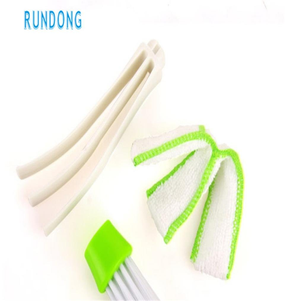Sujing Air-condition Cleaner Computer Clean Tools Window Leaves Blinds Cleaner Duster Pocket Brush Keyboard Dust Collector by Sujing (Image #7)