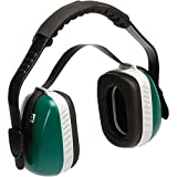 MSA Economuff Earmuffs, Multi-Position, NRR 24 (Over-the-Head); NRR 23 (Behind-the-Head or Under-the-Chin) (21 Earmuffs)