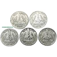 GENUINE COINS GALLERY Indian Coins.1950 to 1956 Years 5 Coins