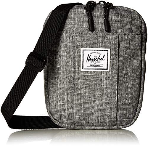 (Herschel Cruz Cross Body Bag, Raven Crosshatch, One Size)