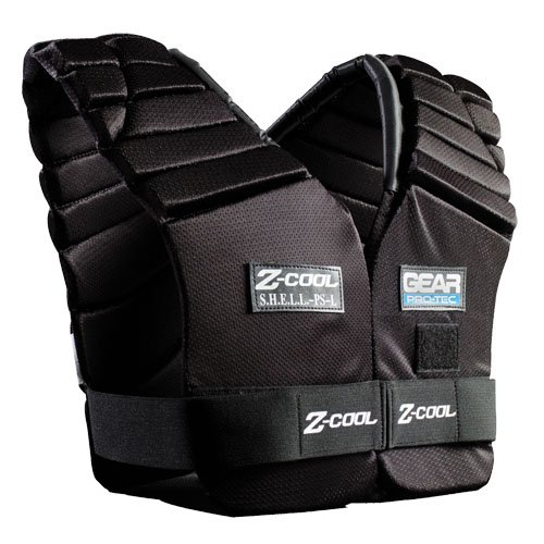 Z-cool Shoulder Pad (Gear Pro-Tec Z-Cool Walk-Thru/Injury Vest, X-Large)