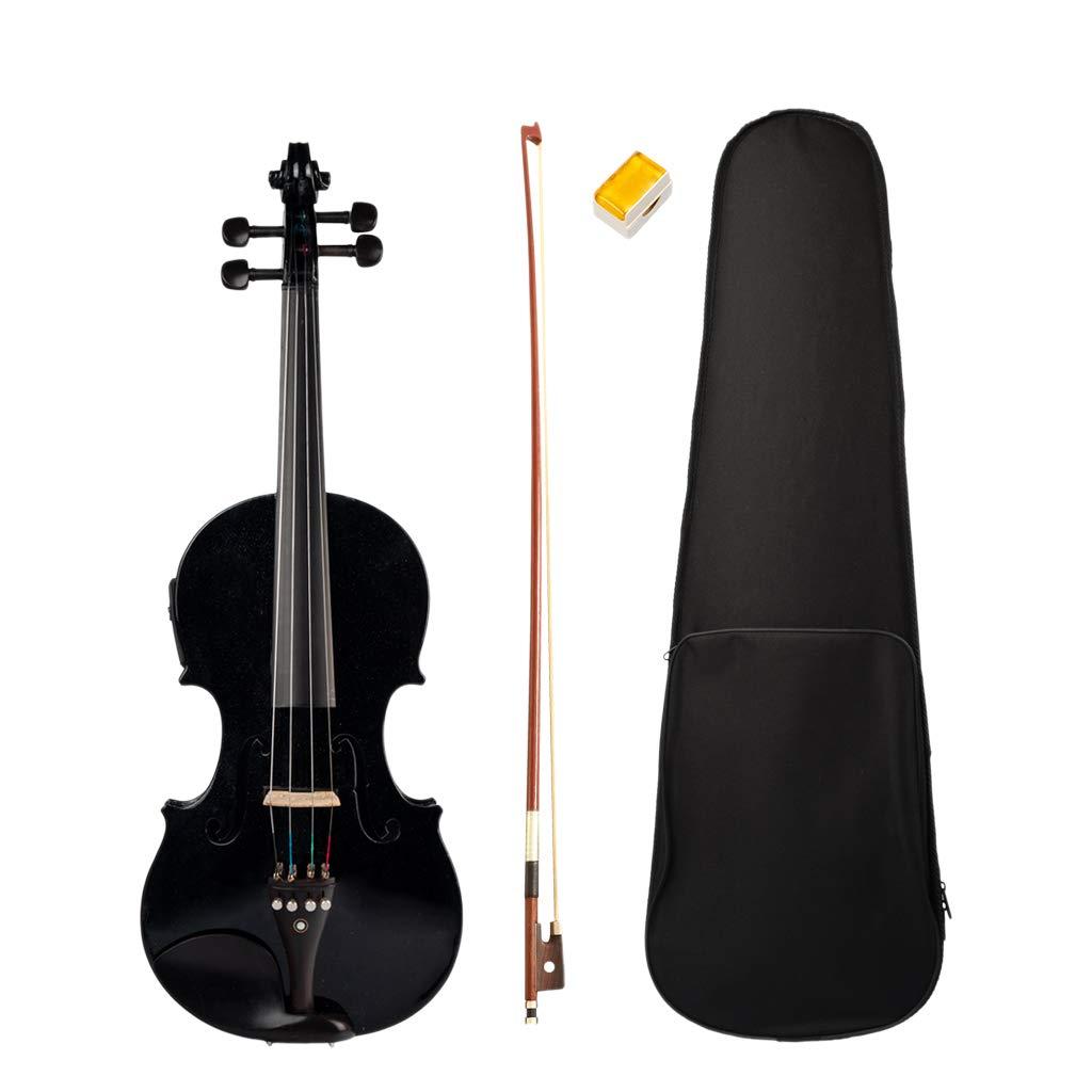 Perfk Akustische und Elektrische Violin-Ausrüstung im 4 4-Format mit Alle Zubehör