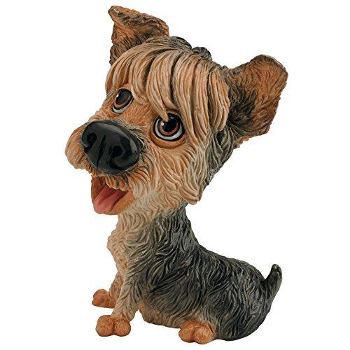 Little Paws Duchess Yorkshire Terrier (Yorkie) Collectible Figurine by Arora Design Ltd