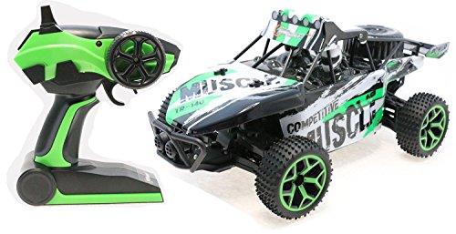 Top Race® Remote Control Racer, RC Auto Monstertruck 4WD, Ferngesteuertes Auto, HIgh Speed Geländefahrzeug, 2,4Ghz (TR-140