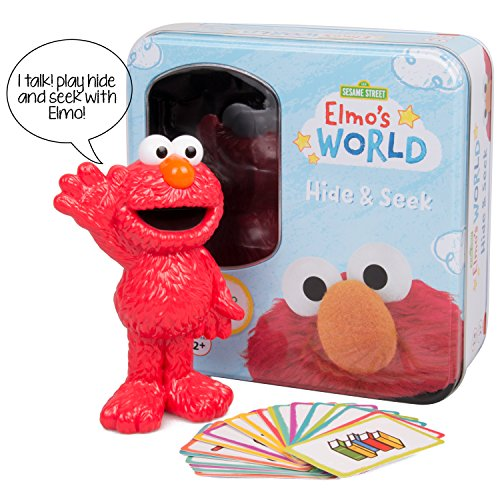 Elmo's World Hide and Seek Game - Features Talking Elmo from Sesame (Cookie Monster Pattern Game)
