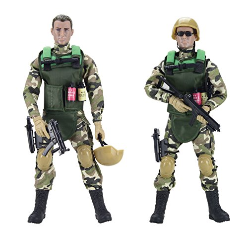 12 Figures Inch Military (Liberty Imports 12