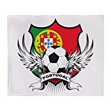 CafePress - Portugal World Cup Soccer - Soft Fleece Throw Blanket, 50''x60'' Stadium Blanket