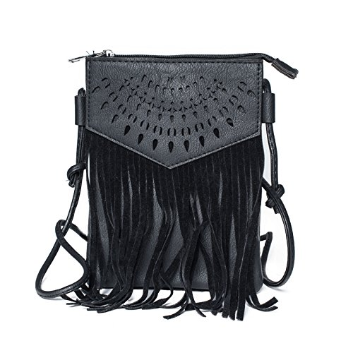 Kandharis Damen Umhängetasche Schultertasche Minibag Ethno CrossOver ...
