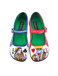 Hot Chocolate Design Chocolaticas Lady Poker Women's Mary Jane Flat