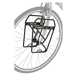 Amazon.com: Axiom Journey Dlx Low Rider delantero rack Negro ...