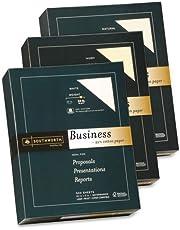 "o Southworth Company o - Fine Business Paper, 24 lb., 8-1/2""x11"", 500/RM, Natural"