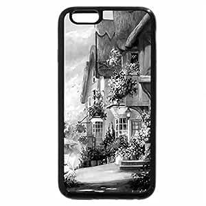 iPhone 6S Plus Case, iPhone 6 Plus Case (Black & White) - CITY under the FOG