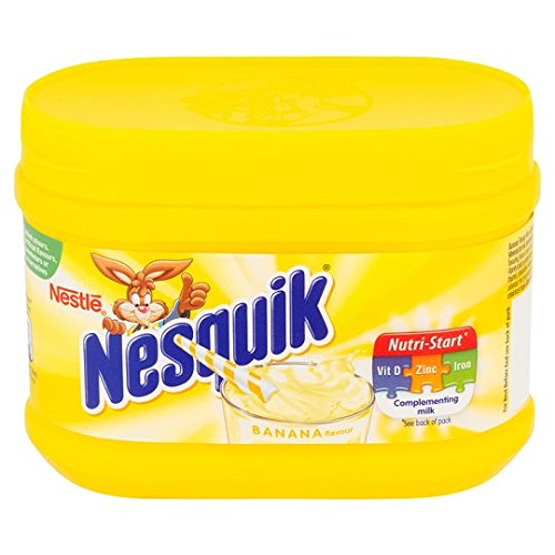Nesquik Milk Shake Powder 3 Flavours (Banana, Strawberry & - Banana Nesquik