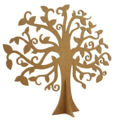 Kaisercraft Beyond The Page MDF Large Family Tree, 15.625-Inch X 17.75-Inch by Kaisercraft