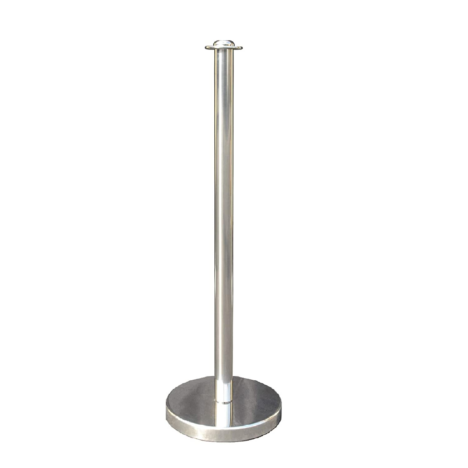 Mirror Taper Top Rope Stanchion in 3 pcs Set 72 Hemp Braided VIP Crowd Control