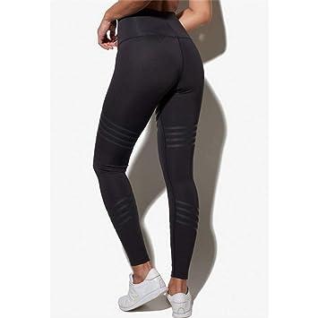 CNANCOO Pantalones Yoga Mujer Push Up Yoga Pantalones Medias ...