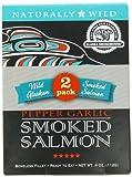 Alaska Smokehouse Smoked Salmon Duo Original, Sockeye, 4 Ounce