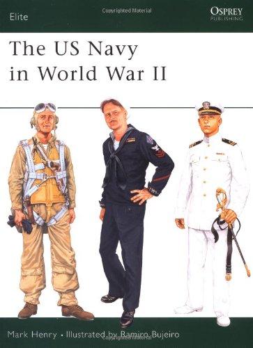 [The US Navy in World War II (Elite)] (Ww2 Navy Uniforms)