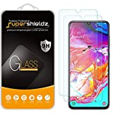 (2 Pack) Supershieldz for Samsung Galaxy A70 Tempered Glass Screen Protector, Anti Scratch, Bubble Free