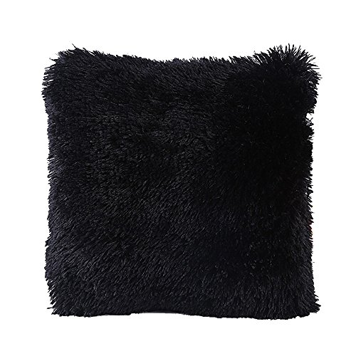 Faux Fur Pillow Cover, FabricMCC Decorative Super Soft Plush