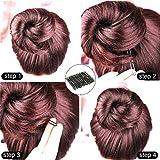U Shaped Hair Pins, Sevensun 100PCS Ladies Hair Bun