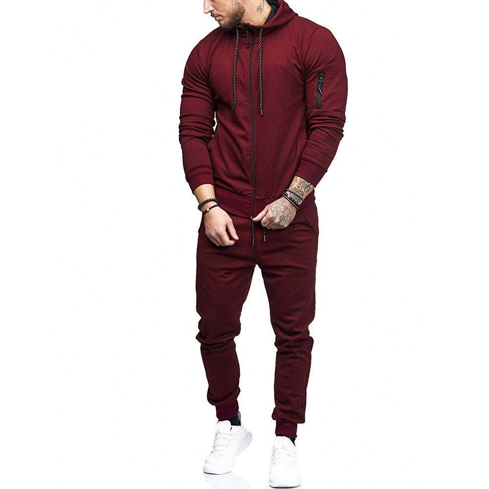 2018 Navy Color Zipper Sweatshirt/&Pants Trousers Outfits Suits Unisex Tracksuits