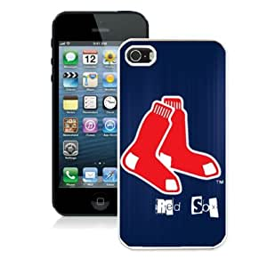 SevenArc Newest MLB Boston Red Sox Iphone 5s Or Iphone 5 Case For MLB Fans