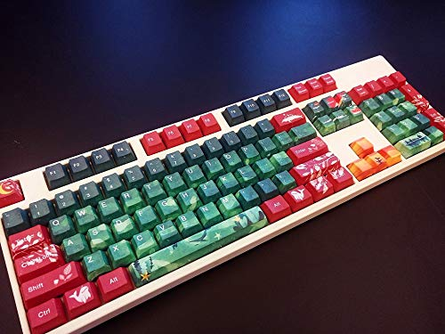 Keycaps, PBT Material - OEM Height - MX Switch, Personalized Keycaps,  87/104/108 Keycaps,108