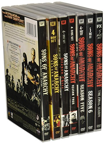 Sons of Anarchy : Complete Seasons 1- 7 Bundle Collection (30-Disc, DVD, 2014)