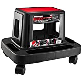 Powerbuilt 620526 Sturdy HD Injection Rolling Storage Tray Work Seat