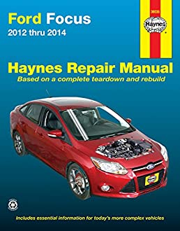 ford focus 2012 thru 2014 does not include information specific to rh amazon com ford focus mk3 repair manual pdf ford focus mk3 repair manual pdf