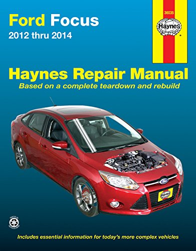 ford focus automotive repair manual 2012 to 2014 haynes repair rh amazon co uk ford focus mk3 workshop manual pdf MK4 Ford Focus