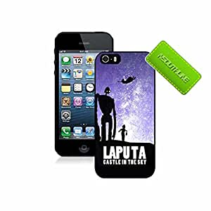 Aweome Castle In The Sky Anime Skin Back Plastic Protector Case For Iphone 5 5s Carcasa