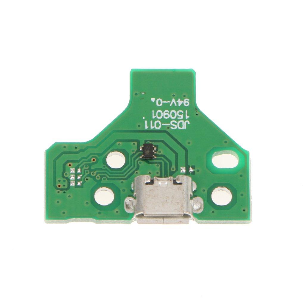H HILABEE Tablero del Zó calo del Puerto De Carga USB del Conector 12Pin para Sony PS4 Dualshock 4