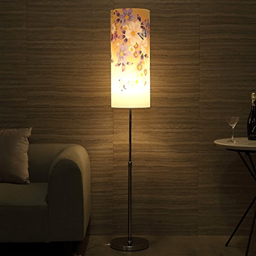 ew Floor Lamp Bedroom Living Room Lift Floor Lamp Retreat House Lights, Simple Modern LED Bedside Vertical Table ()