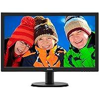 Philips 243V5LSB/00 V-Line 23.6 1080p Full HD LED-Backlit LCD Monitor, Black