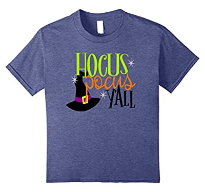 Funny Halloween Shirt Witch Hocus Pocus Y'All Mom Teacher