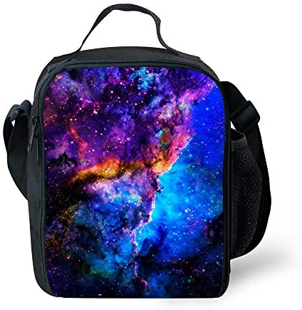 CAIWEI Galaxy Lunch Bag Insulated Lunch Box Cooler Bag (Starry sky 1)