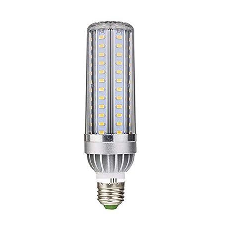 Bombilla LED de maíz E27 35 W, 50 W de alta potencia, ventilador de