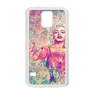 Custom SamSung Galaxy S5 I9600 Case, Zyoux DIY New Fashion SamSung Galaxy S5 I9600 Cover Case - Marilyn Monroe