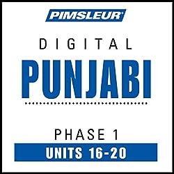 Punjabi Phase 1, Unit 16-20