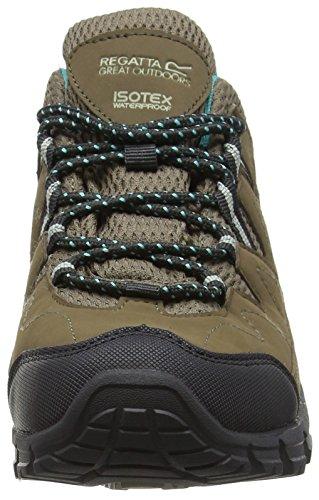 Ceramic Shoes Women's Holcombe Hiking Rise Walnut Low Lady Regatta Grey zqwvYPn
