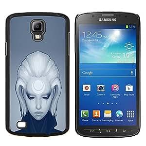 """Be-Star Único Patrón Plástico Duro Fundas Cover Cubre Hard Case Cover Para Samsung i9295 Galaxy S4 Active / i537 (NOT S4) ( Cool Girl triste Profundo"""" )"""