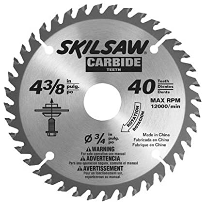 Skil 75540 4 38 inch by 40t carbide flooring blade table saw skil 75540 4 38 inch by 40t carbide flooring blade greentooth