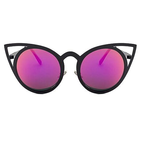 BiuTeFang Gafas de Sol Mujer Hombre Polarizadas Calle Beat ...