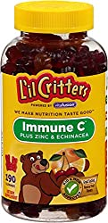 L'il Critters Immune C Plus Zinc & Echinacea, 190 Count (Packaging May Vary)